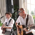 Akoestisch duo Ginfish live bruiloft